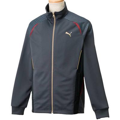 ◆即納◆プーマ(PUMA) メンズ トレーニングジャケット 902966 02 エボニー 【トレーニングウェア ジャージ ランニング アウター】の画像