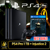 SONY PS4 PRO 1TB + New INJUSTICE 2. 4K Gaming Console [4K Quality Resolution Remarkable Clarity] . Local Stocks and 15 Months Warranty!