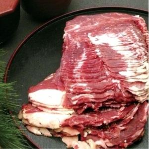 牛肩ローススライス(1kg)【冷凍】の画像