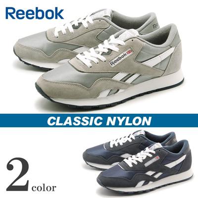 リーボック クラシック クラシック ナイロン REEBOK CLASSIC CLASSIC NYLON メンズ スニーカーの画像