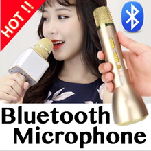 ★ 6 MTHS SG WARRANTY ★ 8 MODELS AVAILABLE !!! Wireless Bluetooth Karaoke Microphone