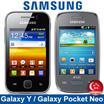 Samsung Galaxy Y and Galaxy Pocket Neo 3G Smartphone / Brand New Local Stocks (No Warranty)