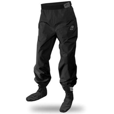 レベルシックス(LEVEL SIX) Delta Pants Black S LS13A000000192 【カヌー カヤック パドリングパンツ ソックスつき】の画像