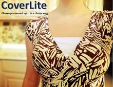 CoverLite Cleavage Cover Camisole Mock Camisole Mock Tank Top Bra Attachment