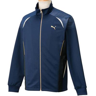 ◆即納◆プーマ(PUMA) メンズ トレーニングジャケット 902966 03 ピーコート 【トレーニングウェア ジャージ ランニング アウター】の画像
