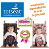 Brand New Original Canvas Totseat Washable Highchair. Portable Chair Harness. Fix on various chairs. Washable. Choice of 3 designs. Local SG Stock and warranty !!