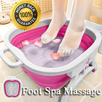 ★New Creative Foot Spa Basin★Foot Bath/Foot Reflexology/Massage/Massager/Father and Mother day gift /Singapore Seller
