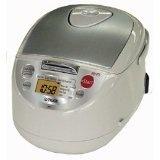 【クリックで詳細表示】TIGER 【海外向け】マイコン式ジャー炊飯器 (5.5CUP/5.5合炊き) JBA-T10W(C)/220V