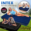 ★[Local Seller/Intex Air Mattress]★Inflatable Downy Air Bed/FREE Electric Pump/4 Different Models