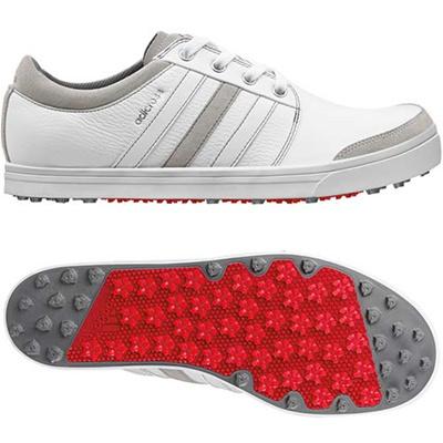 アディダス(adidas) アディクロス グリップモア/adicross gripmore SYN スパイクレス シューズ Q47038 WH/WH 【メンズ ゴルフ 靴 15】の画像