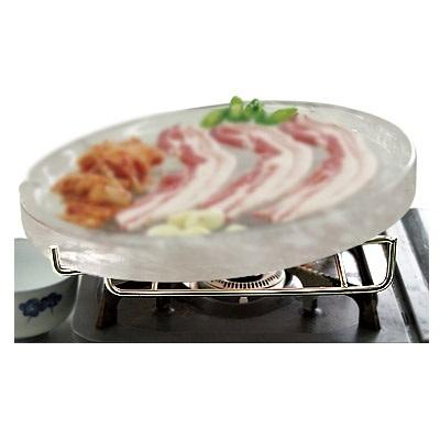 【韓国食品・韓国食材・韓国雑貨】■水晶プレート(焼き肉用)台のみ■の画像