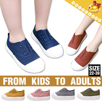 From Kids to Adult Women◆Korean Style Casual Canvas Sneakers◆Comfortable Shoes/ 22-39 sizes