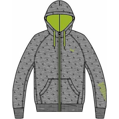 プーマ(PUMA) スウェットジャケット 512350 02 ミディアム グレイ ヘザー 【メンズ トレーニングウェア ランニング 長袖】の画像