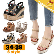 ◆Fashionable Wedge Heels  for Women◆Thick Heeled Summer Sandals/ Shoes/ 6 styles/34-39 size