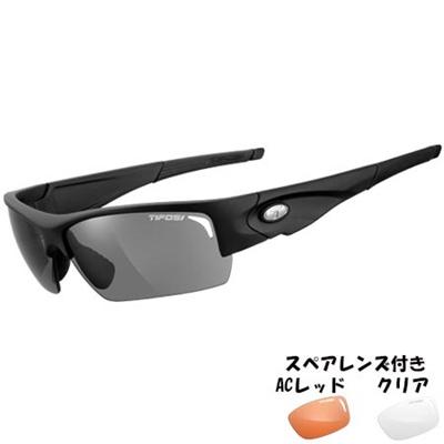 ティフォージ(Tifosi) ロア マットブラックTF1090100101 【自転車 サイクリング ランニング アイウェア サングラス】の画像