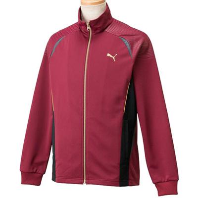 ◆即納◆プーマ(PUMA) メンズ トレーニングジャケット 902966 04 チーム バーガンディー 【トレーニングウェア ジャージ ランニング アウター】の画像