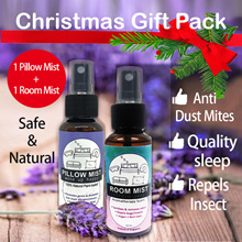 [CHRISTMAS GIFT] ♥NATURAL PILLOW MIST Room Mist♥ Christmas Gift Pack Quality Sleep Contains Lavender