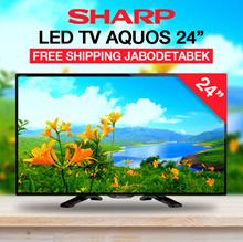 Sharp LED TV Aquos 24LE170 -24 - Hitam-Khusus Jabodetabek