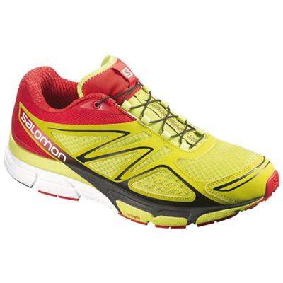 サロモン(SALOMON) スクリーム3D(X-SCREAM 3D) GECKO GREEN/BRIGHT RED/BLACK L36889200 【アウトドアウェア スポーツウエア ランニングシューズ 靴 メンズ】の画像