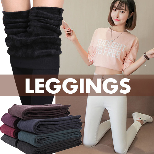Women/ladies Winter Leggings/men/ kids plus size pants sweater/trousers Thermal wear/Render ADDS Deals for only S$22.99 instead of S$0
