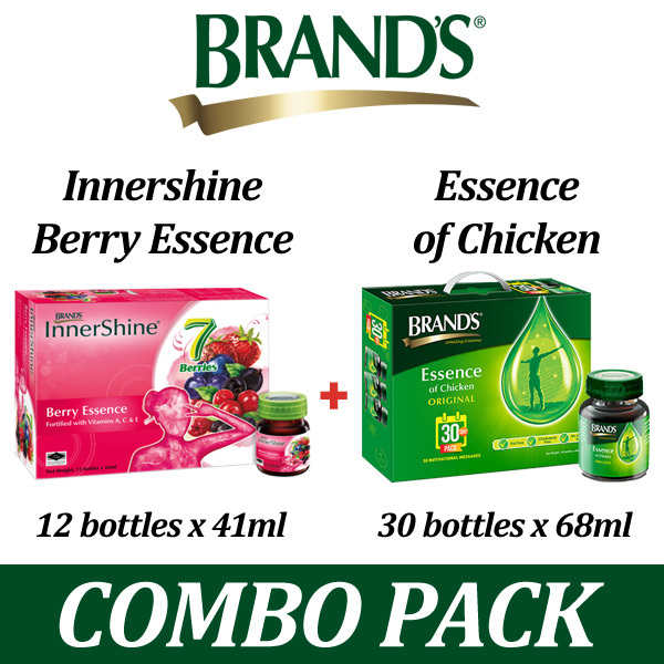 COMBO SALE! BRANDS Essence of Chicken Deals for only S$111.6 instead of S$0