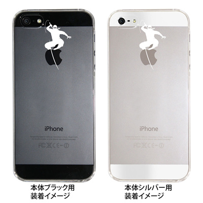 【iPhone5S】【iPhone5】【Clear Arts】【iPhone5ケース】【カバー】【スマホケース】【クリアケース】【忍者A】 09-ip5-ca0011の画像