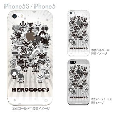 【iPhone5S】【iPhone5】【HEROGOCCO】【キャラクター】【ヒーロー】【Clear Arts】【iPhone5ケース】【カバー】【スマホケース】【クリアケース】【おしゃれ】【デザイン】 29-ip5s-nt0083の画像