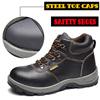 Men safety shoes boots deodorant breathable summer work shoes Baotou Steel anti-smashing anti-pierci