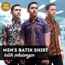 Mens Batik Shirt Collections - High Quality - Pekalongan Batik