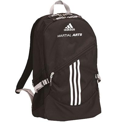 アディダス(adidas) Martial Arts backbag ブラック 48×32×13cm ADIACC98 【リュックサック カバン バッグ】の画像
