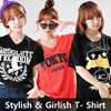 Free shipping!!!★KOREA MEGA HIT 88% OFF★ [Top Shop] Plus Size T-Shirts Over 100 Style Customer Satisfaction High products  in Korea Girlish Long T-Shirts! Travel Item Travel Acc Comfortable