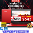 (NEW)15.6 OR 14 inch CHEAPER Full-HD laptops!!!]Lenovo Ideapad 310 7TH Generation |Intel i5-7200U | use your coupon here
