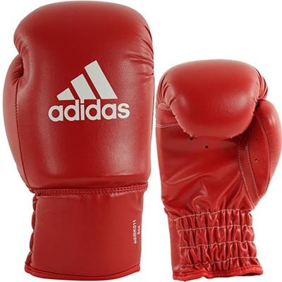アディダス(adidas) ROOKIE Boxing Glove レッド 6oz ADIBK011 【ボクシンググローブ ムエタイ キックボクシング パンチンググローブ トレーニング】の画像