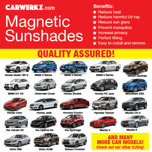 ?QUALITY ASSURED? MAGNETIC SUNSHADE Deals for only S$149.9 instead of S$0