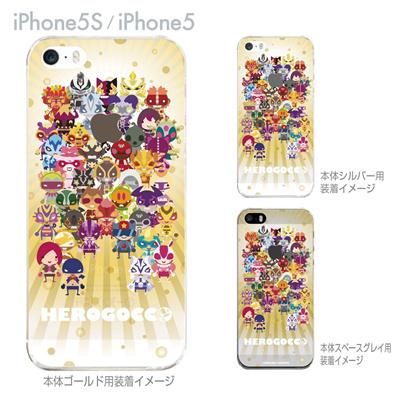 【iPhone5S】【iPhone5】【HEROGOCCO】【キャラクター】【ヒーロー】【Clear Arts】【iPhone5ケース】【カバー】【スマホケース】【クリアケース】【おしゃれ】【デザイン】 29-ip5s-nt0082の画像