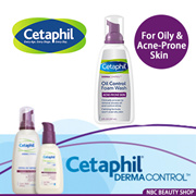 Cetaphil ★ DermaControl Oil Control Face Foam Wash | Oily Face | Acne Prone Skin | Restoraderm