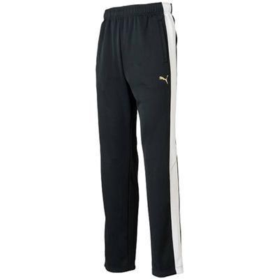 ◆即納◆プーマ(PUMA) メンズ トレーニングパンツ 902967 01 ブラック/ホワイト 【ボトムス トレーニングウェア ジャージ ランニング ズボン】の画像