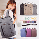 [Buy 2 Free Qxpress]◆CNY BIG PROMO◆★Unisex Korean Version Shoulder bag Backpack School Bag Unisex backpack Waterproof bag Men bag Lady Bag Women Bag BPB-CC06