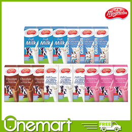 [FNN] MAGNOLIA UHT MILK  ★ 250ml Pack ★ Chocolate / Strawberry / Full Cream / Fresh /  High Calcium