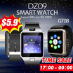 ◇DZ09 GT08 U80 E06 E06+ Smartwatch/smartband/bracelet  smart watch phone with SMS Reminder Sedentary Reminder sleeping monitoring anti lost Remote Camera and SIM card slot watch