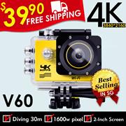 ◎FREE SHIPPING!◎4K WiFi V60 Sports Camera Waterproof Car Camera◎Best Seller In SG