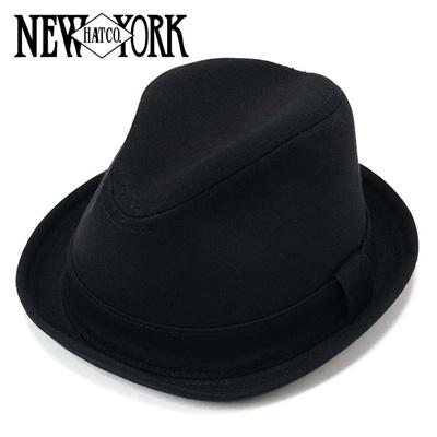ニューヨークハット New York Hat コットンキャンバス中折れハット Canvas Rexy Hat 3105 Blackの画像