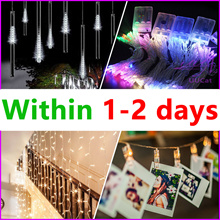 [UUCat] Local Delivery - Led Fairy Light / Led String Light Battery Operated For Party Wedding Decor