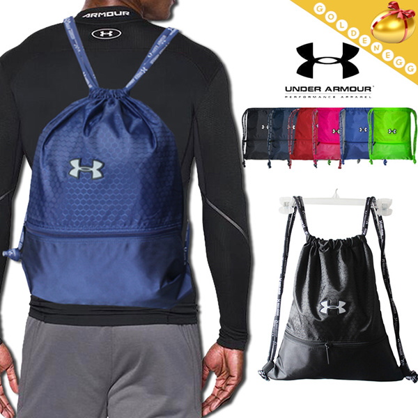 4f3ee01901e2 UNDER ARMOUR Waterproof Drawstring Bag   Sports Backpack Travel Bag Shoe Bag  Shoulder Bag  Soccer Basketball Bags  Unisex  5pcs same delivery fee