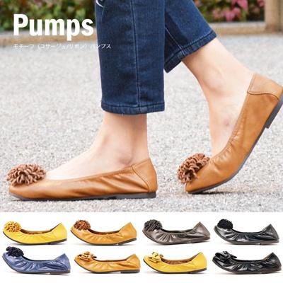 【メーカー処分価格】レディース パンプス モチーフ(コサージュ/リボン) シューズ 靴 くつ オフィス ビジネスシューズ ビジネス 通販の画像