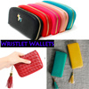★Local Delivery★ ! Korean Designed Women Long wallet / saffiano / card wallet / Passport case