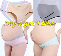 Buy 5 get 1 free! Many designs/maternity underwear/maternity panties/maternity pants
