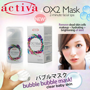 Activa OX2 Bubble Mask *[Pore Minimizing | Hydration | Brightening]* CLEARANCE SALE! (exp: 11/2017)
