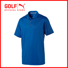 PUMA GOLF Men Asym Fade Polo - Lapis Blue ★ FREE DELIVERY ★ AUTHENTIC ★ 7 DAY RETURNS & EXCHANGES