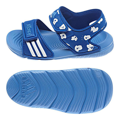 アディダス (adidas) ジュニア ディズニー アクワ 9 I(カレッジロイヤル×ホワイト×ラッキーブルー) B40817 [分類:キッズ・子供靴 コンフォートサンダル]の画像